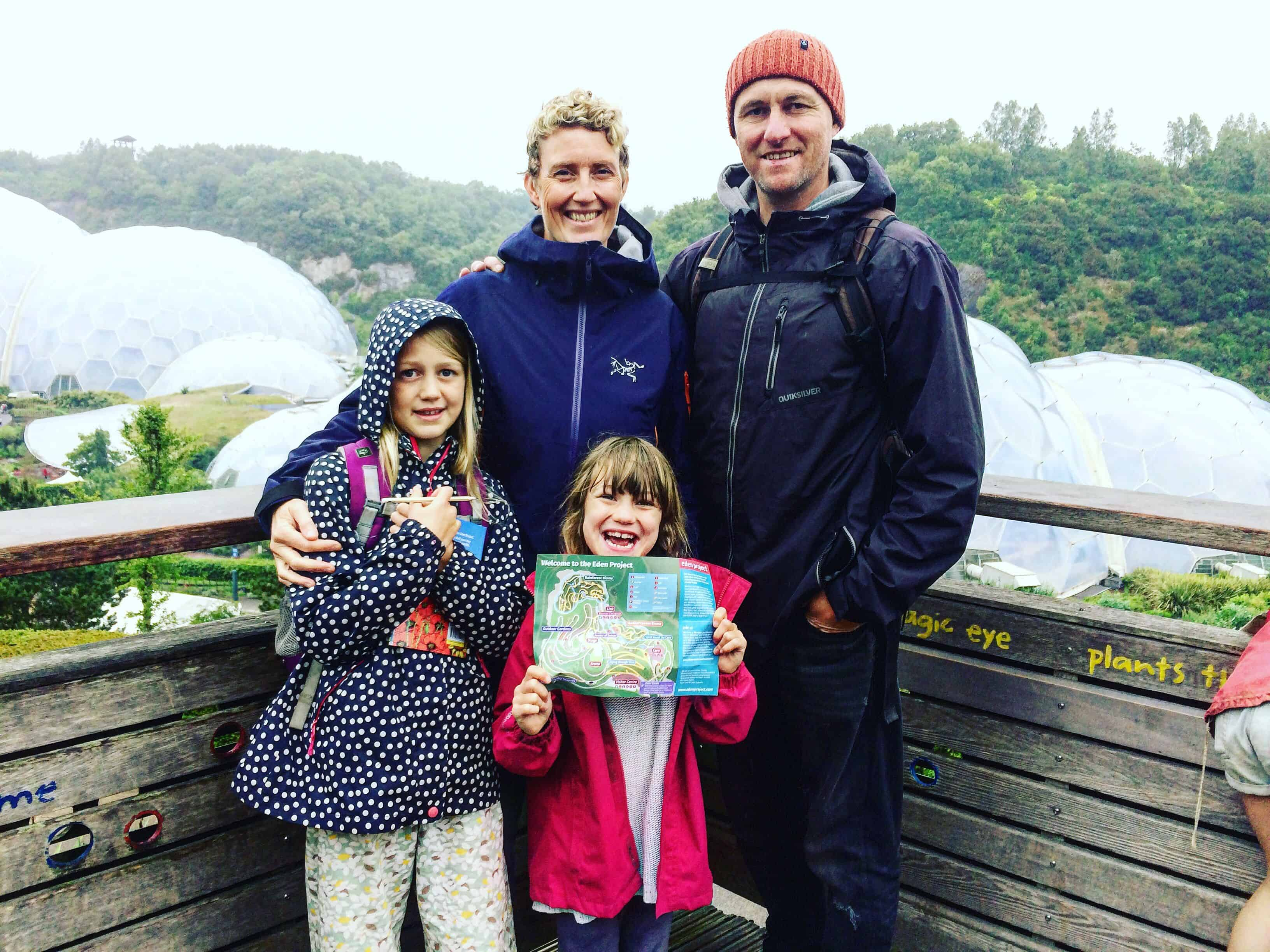 Visiting the Eden Project with kids