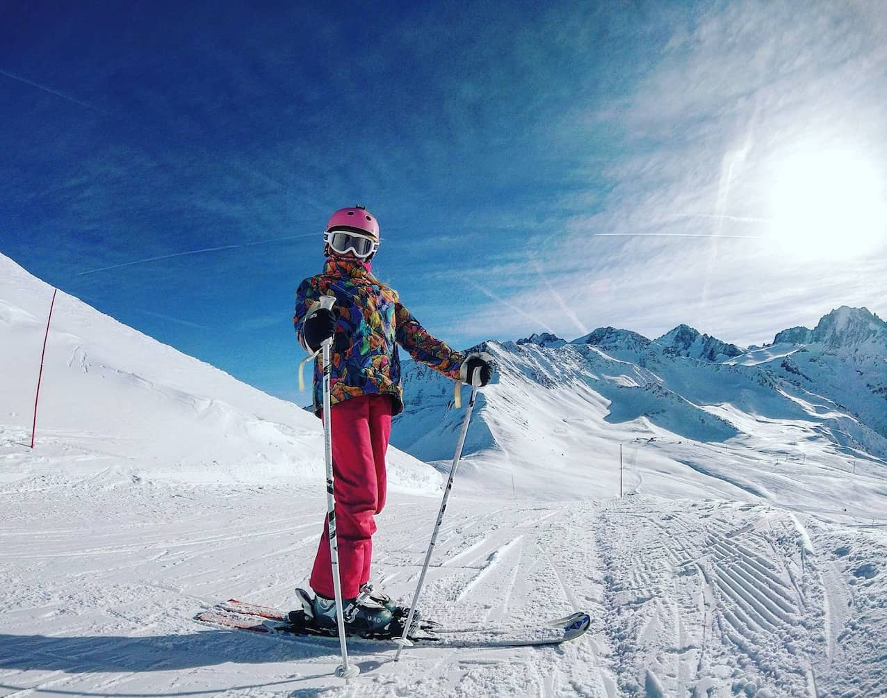 essentials for skiing - goggles