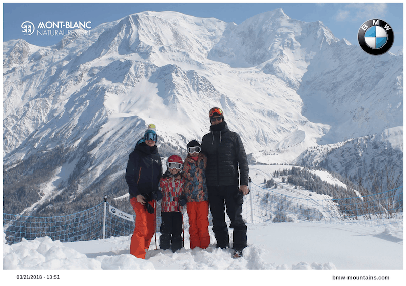 Les Houches photo viewpoint