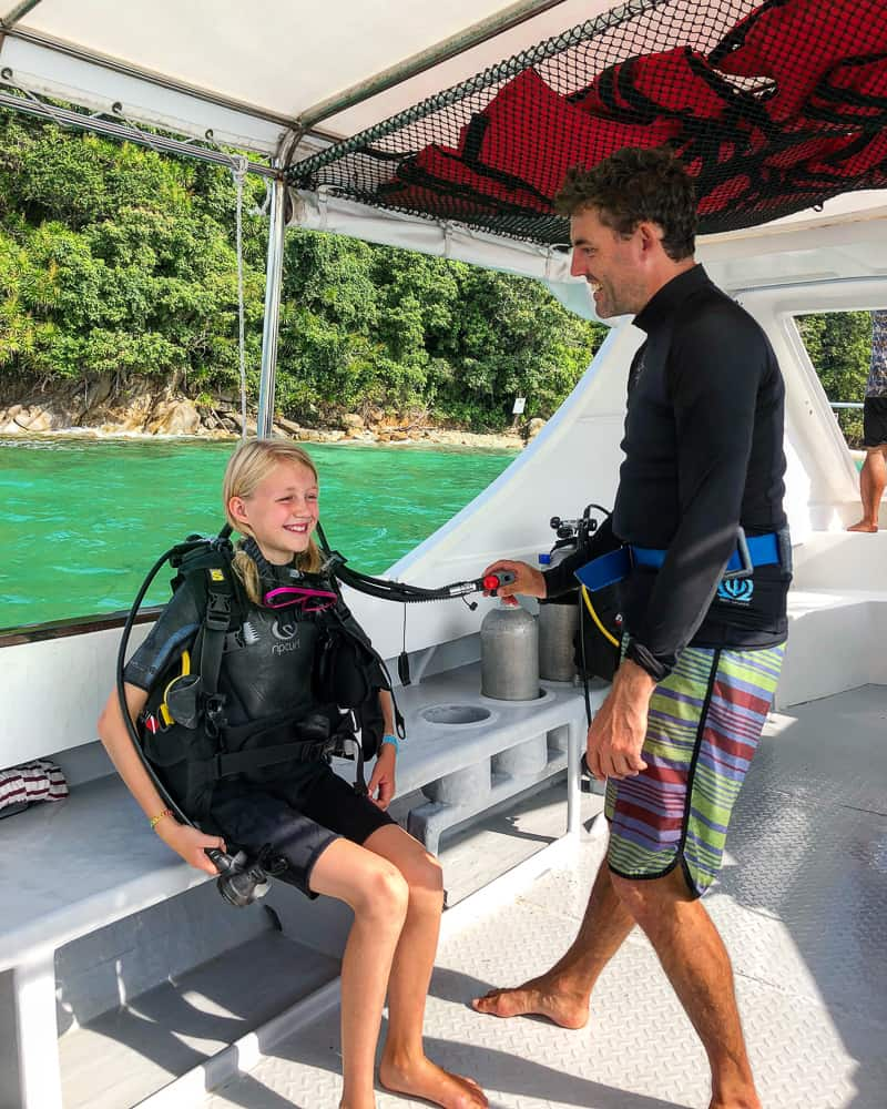 youth open water dive qualification
