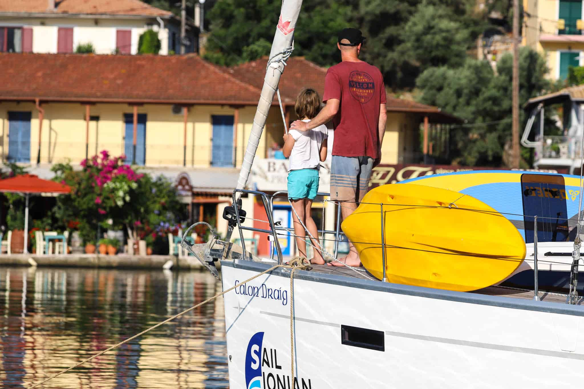 how to plan a family sailing holiday