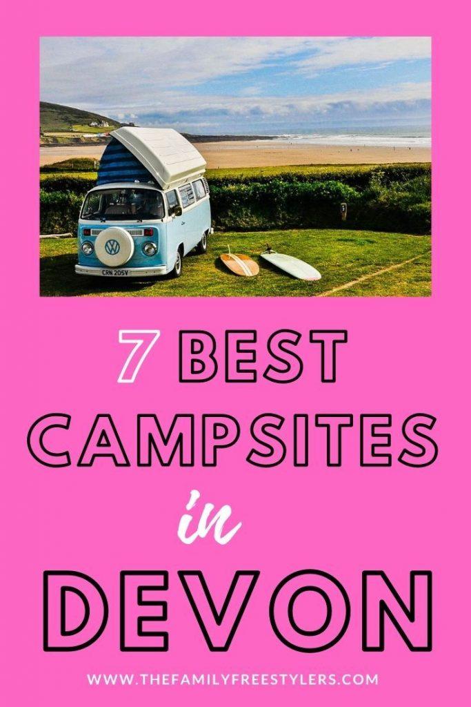 campsites in devon